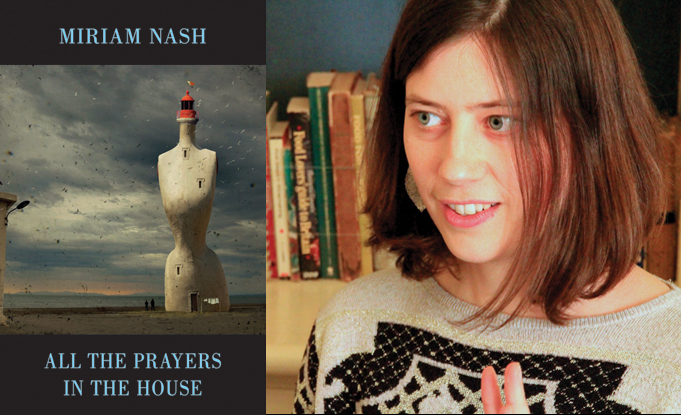 Miriam Nash runner-up for Edwin Morgan Poetry Award