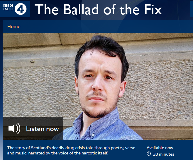 Niall Campbell narrates new poem on Radio 4 Feature