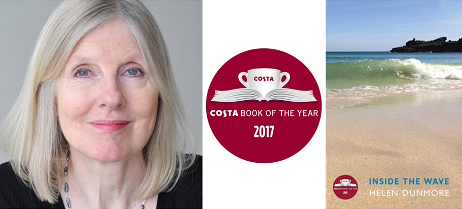 Helen Dunmore's Inside the Wave named Costa Book of the Year