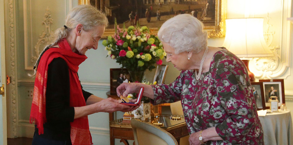 Gillian Allnutt Awarded Queen's Gold Medal for Poetry