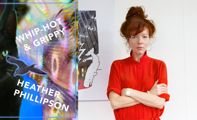 Heather Phillipson's Whip-hot & Grippy is The Telegraph's Poetry Book of the Month