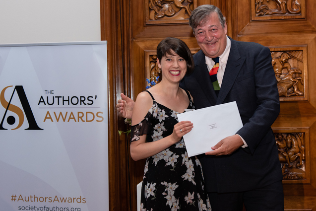 Miriam Nash wins a Somerset Maugham Award