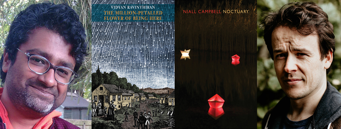 Niall Campbell and Vidyan Ravinthiran shortlisted for Forward Prize for Best Collection 2019