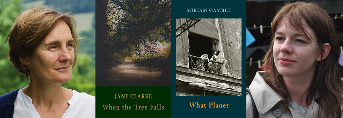 Jane Clarke & Miriam Gamble shortlisted for the Pigott Poetry Prize