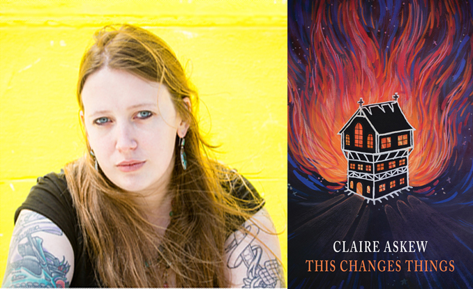 Claire Askew on Saltire First Book Award shortlist