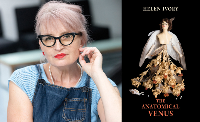 Helen Ivory's The Anatomical Venus wins the East Anglian Writers Book by the Cover Award