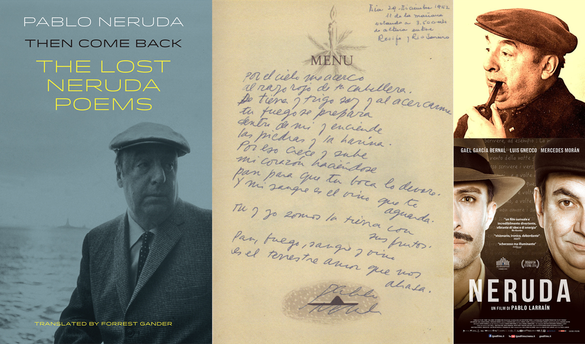 Neruda's 'Lost' Poems on BBC Radio 3 & 4