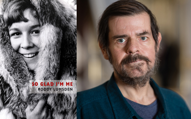 Roddy Lumsden shortlisted for Saltire Poetry Book of the Year