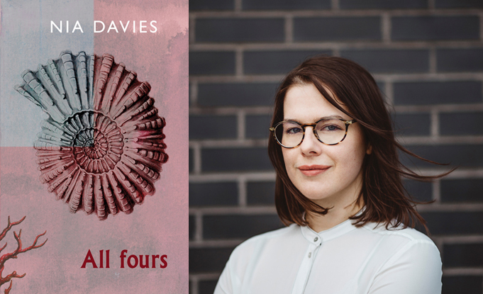 Nia Davies' All Fours on Roland Mathias shortlist